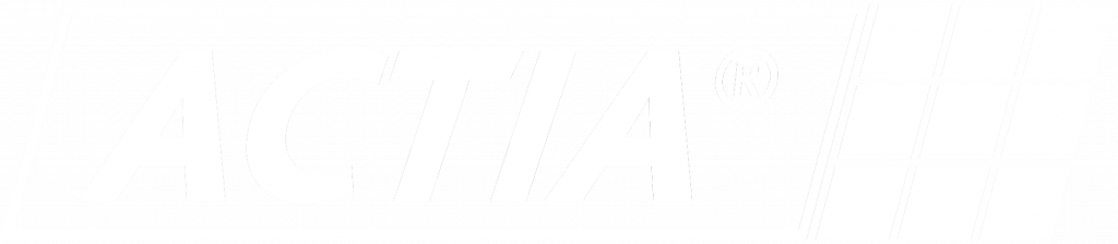 logo actia blanc