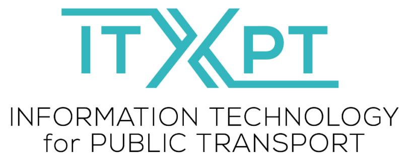 itxpt, logo, actia, public transport