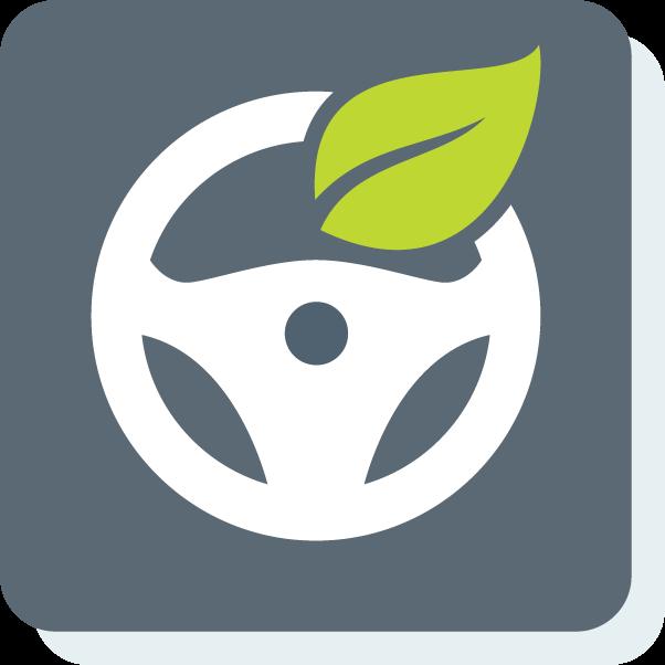 icon, eco, driving